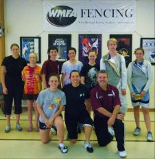 Fencing Camp with Iris Zimmermann